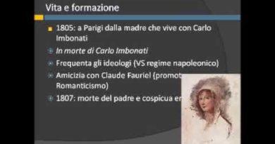 Vita di Alessandro Manzoni