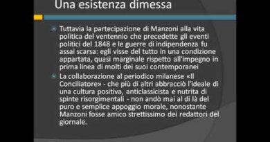 Manzoni: un intellettuale critico e attento
