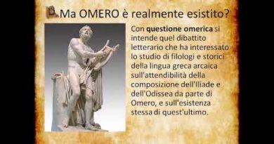 Omero e l' Iliade
