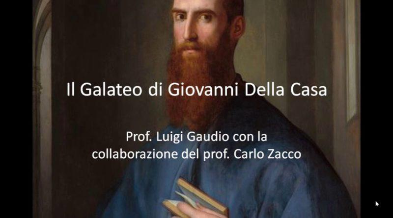 Il Galateo di Giovanni Della Casa La discrezione cap. XII