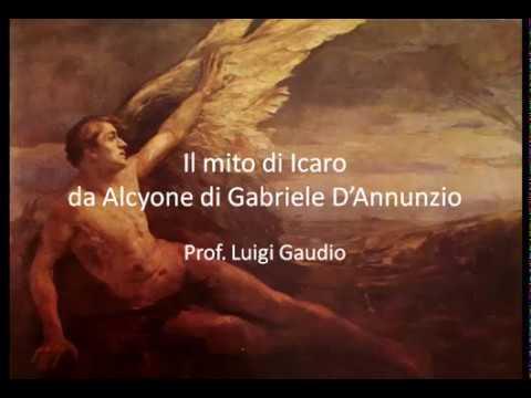 Il mito di Icaro Ditirambo IV da Alcyone di Gabriele D'Annunzio