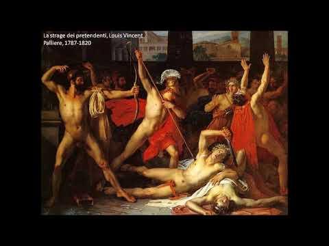 Inizia la strage Odissea XXII vv. 1-43