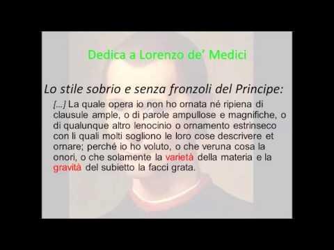 La dedica del Principe a Lorenzo de' Medici