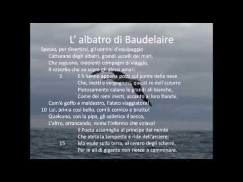 L'albatro di Charles Baudelaire