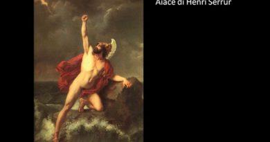 Il destino di Aiace Oileo Odissea IV 481-511
