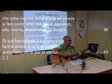 Esilio. Testo di Dante Alighieri (Paradiso XVII). Musica di Luigi Gaudio