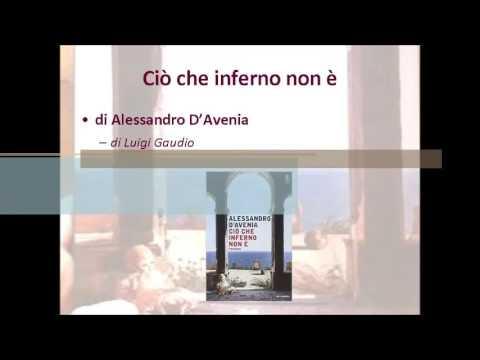 I bambini e le donne nel romanzo Cio' che inferno non e' di Alessandro D'Avenia