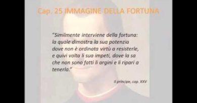 Virtu' e fortuna nella lotta politica: il capitolo venticinquesimo del Principe di Machiavelli