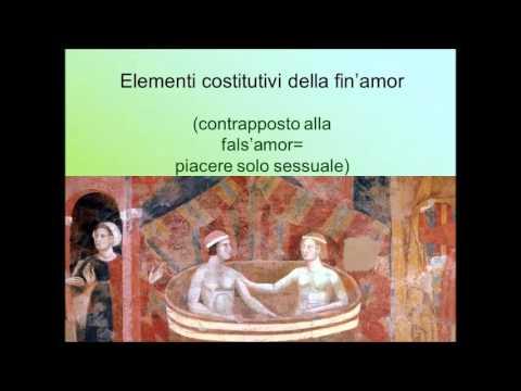 La lirica provenzale e gli ideali dell'amore cortese