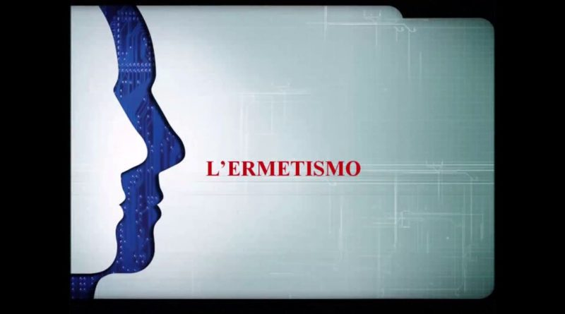 L' ermetismo