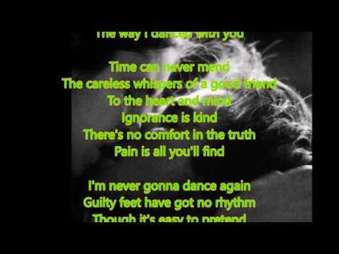 Careless whisper cover lyrics George Michael