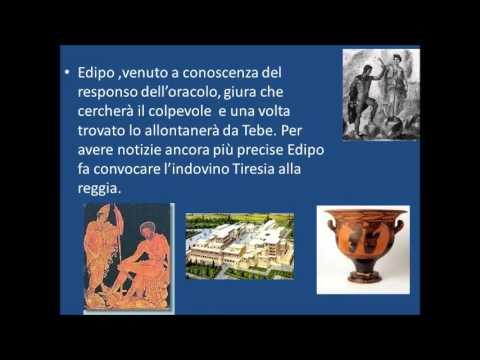 Edipo e Tiresia dall' Edipo Re di Sofocle
