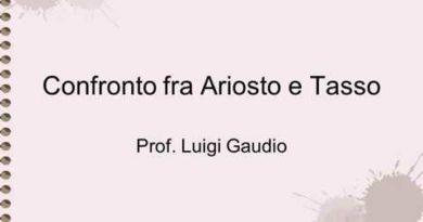 Confronto tra Ariosto e Tasso