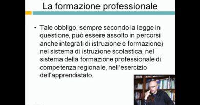 La formazione professionale – Corso per dirigenti scolastici