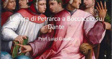 L'ombra di Dante. Lettera di Petrarca a Boccaccio