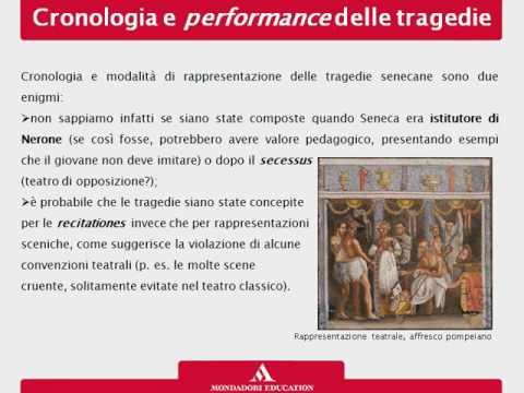 Le tragedie le opere poetiche lo stile e la fortuna di Seneca