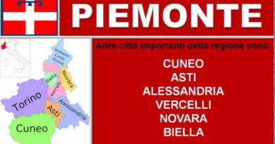 Piemonte. Lezione di geografia.