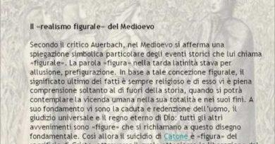 Motivi e materia del poema di Dante
