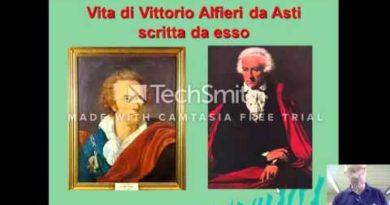 La vita di Vittorio Alfieri scritta da esso