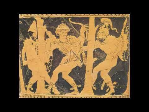 La spedizione notturna di Diomede e Odisseo prima parte Iliade X vv  254 261