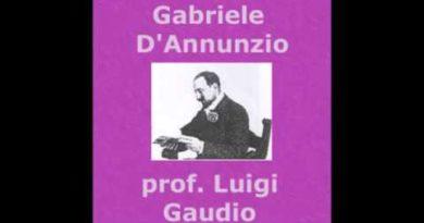 La sera fiesolana di Gabriele D'Annunzio da Alcyone