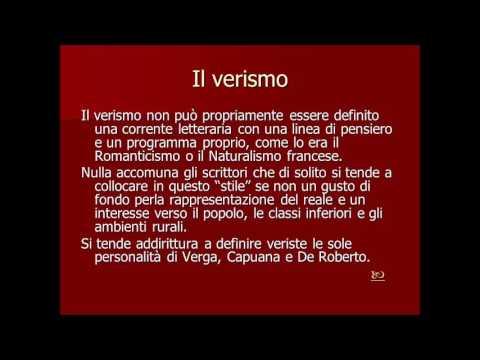Il verismo italiano e la recensione di Luigi Capuana al romanzo dei Malavoglia di Giovanni Verga