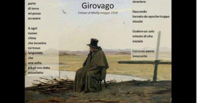 Girovago di Giuseppe Ungaretti