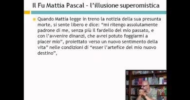 Il fu Mattia Pascal – Luigi Pirandello  – Lezioni di letteratura del 900