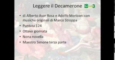 Maestro Simone terza parte Decamerone
