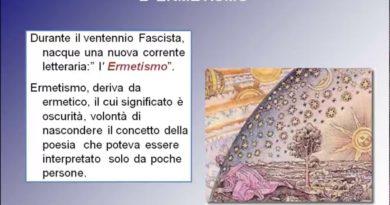 """""""La poesia """"""""La preghiera"""""""" in Sentimento del tempo di Giuseppe Ungaretti"""""""