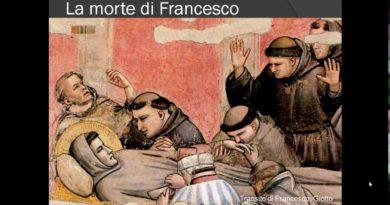 La morte di Francesco e la degenerazione dell'ordine domenicano canto XI vv. 109-139