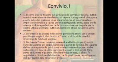 Il proemio del Convivio di Dante