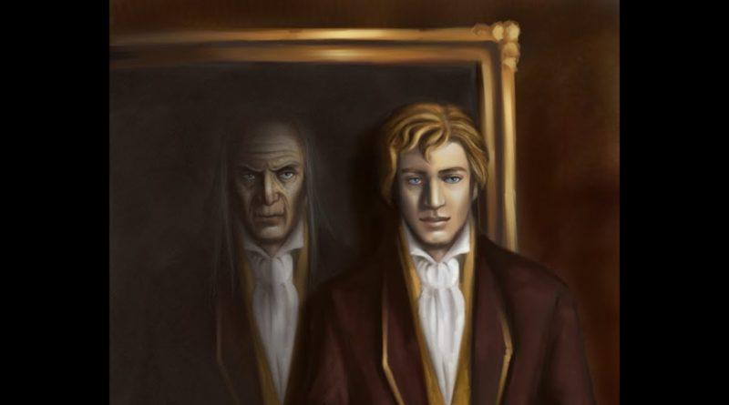 L'arrivo del dipinto di Oscar Wilde