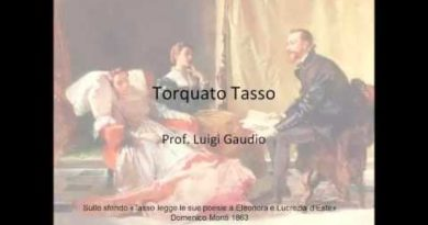 La vita di Torquato Tasso prima parte