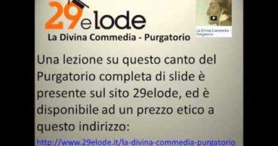 Canto secondo del Purgatorio di Dante vv 37-129