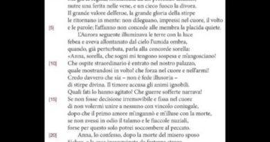 La passione di Didone. Eneide IV 1-13