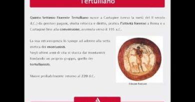 Tertulliano e l'apologetica