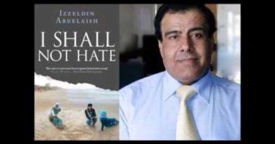 Non odiero' di Izzeldin Abuelaish prima parte del conflitto israelo-palestinese