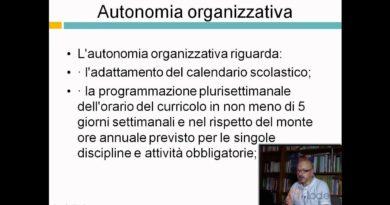 La scuola autonoma – Lezioni di Dirigenza scolastica – 29elode