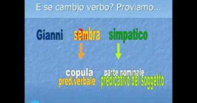 La frase semplice e i suoi elementi